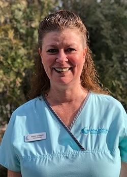 Dental assistant Kathy